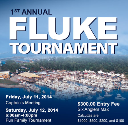 1st Annual Fluke Tournament